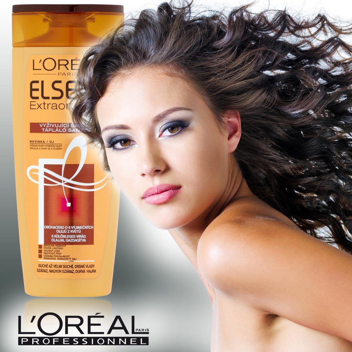 Suché vlasy jsou trápení. Pomůže šampon pro suché vlasy? Vyzkoušela jsem novinku od – L'Oréal ParisElseve Extraordinary Oil.