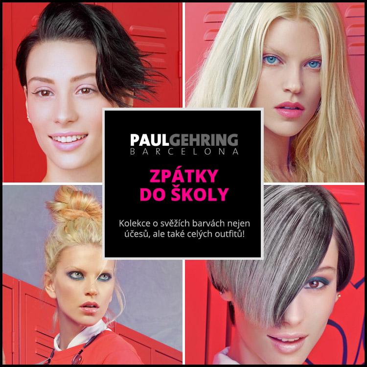 Kolekce účesů Paul Gering – Spring University je o svěžích barvách nejen účesů, ale také celých outfitů. Nápadité a také trochu odvážné barvy a melíry vlasů doplňuje dospělácké výrazivo stylingu a také dospělá móda.