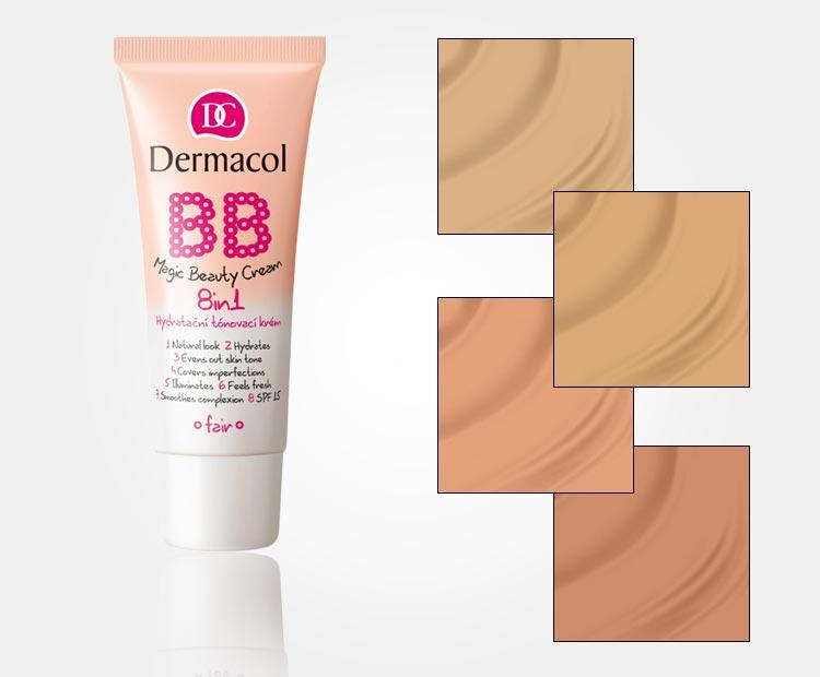 BB krém Dermacol BB Magic Beauty Cream 8in1 je úžasnou kombinací hydratačního krému a make-upu. Koupíte jej v e-shopu Nehtyprofi.cz.
