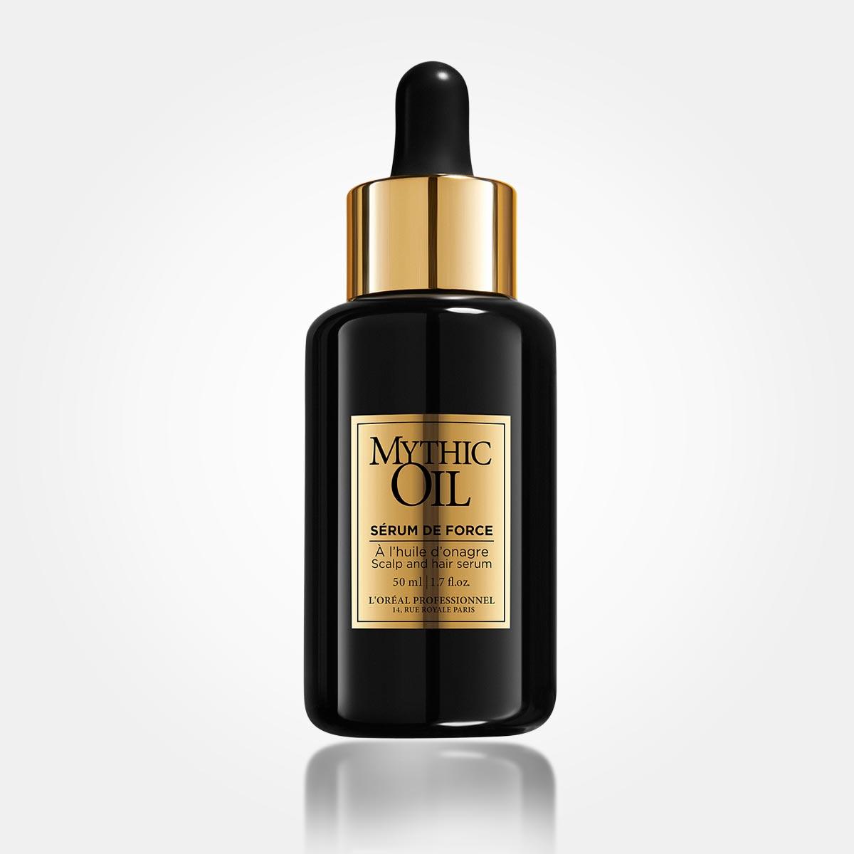 Sérum de Force z řady Mythic Oil je skutečně luxusní péče pro oslabené vlasy.