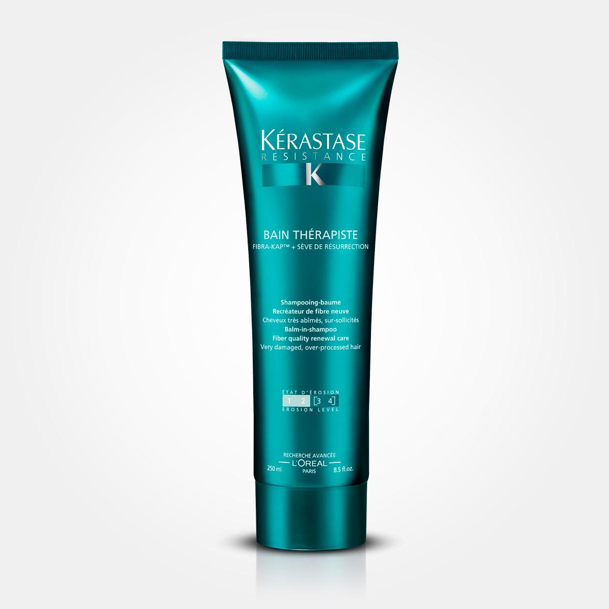 Terapie Bain Thérapiste – obnovující šamponová lázeň pro zničené vlasy