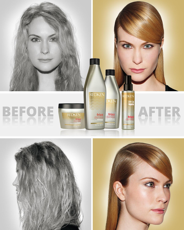 Za krepatění vlasů může jejich struktura. Ta může být daná geneticky, nebo způsobená nesprávným chemickým ošetřováním vlasů. Problémy s krepatěním vlasů slibuje vyřešit Redken Frizz Dismiss.