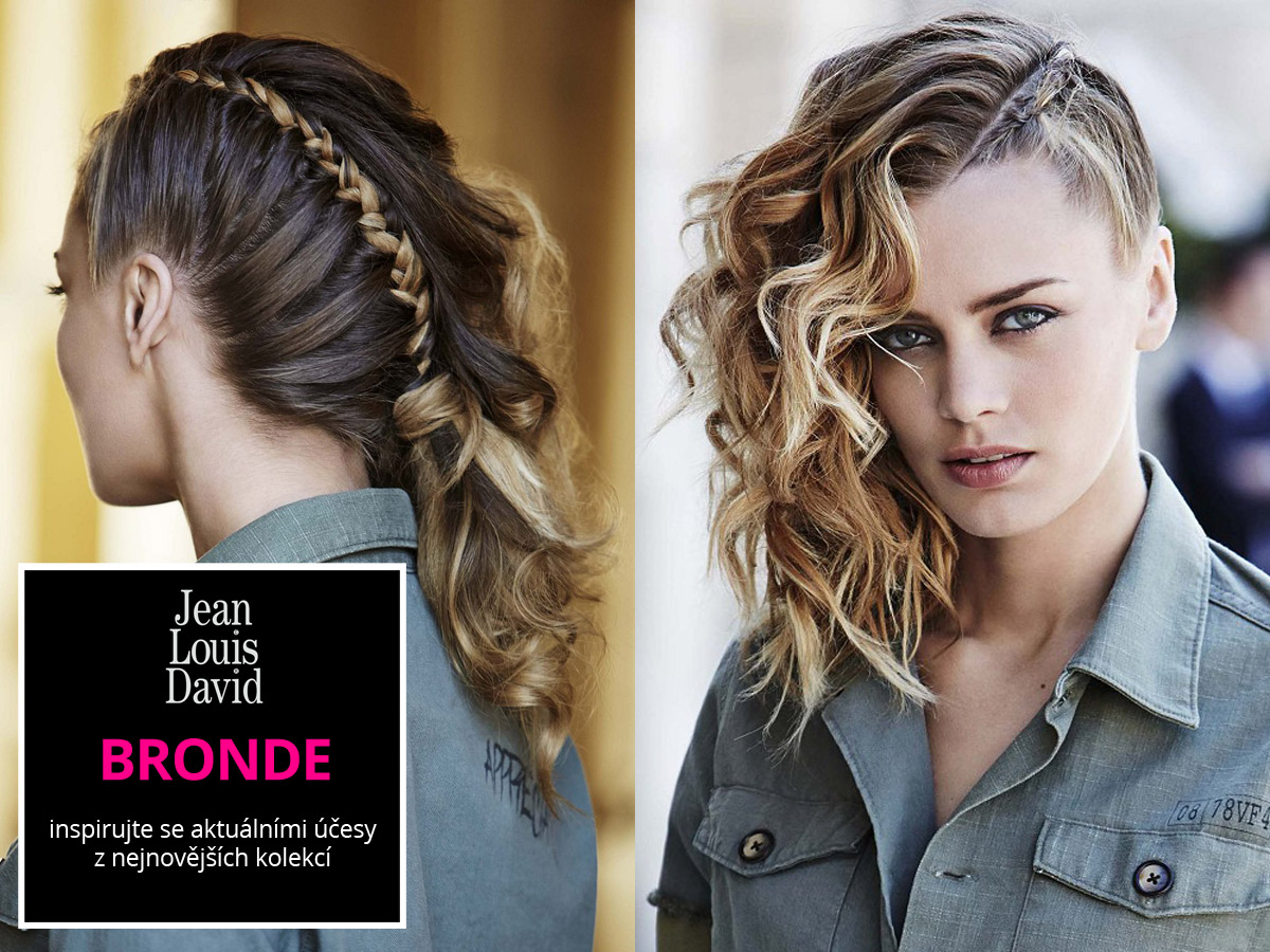 Bronde 2015/2016 podle Jean Louis David (kolekce účesů: One Day in the City , sezóna: Autumn/Winter 2015-16, vlasy: Jean Louis David.)