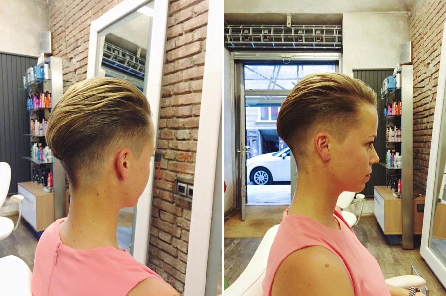 Florian Hair – účes: Lucie Sýkorová