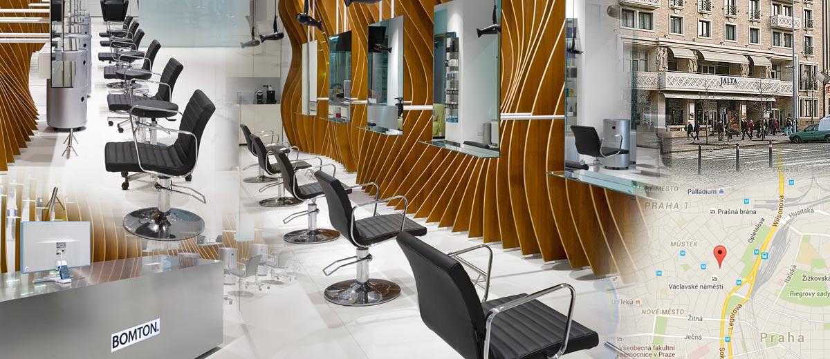 Kadeřnictví Bomton Jalta od 24. srpna letošního roku vítá své zákazníky v nových interiérech, které vytvořilo architektonické studio Studio pha.