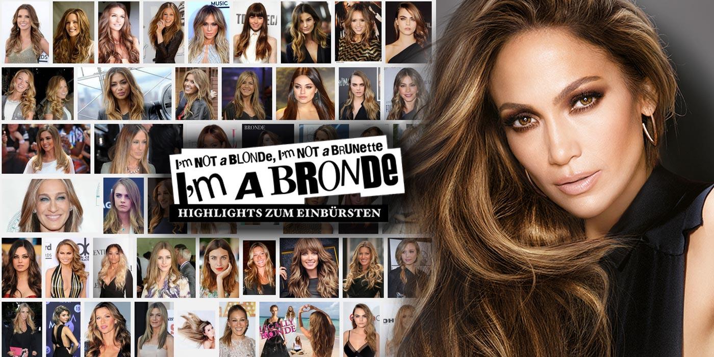 Brondýnky jsou v kurzu! Bronde hvězdou je také Jennifer Lopez. A nejen ona! (Zdroj obrázků: L'Oréal Paris Francie, repro Google)