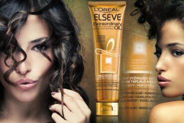 Trápí vás suché vlasy? Zkuste krém na suché vlasy Elseve Extraordinary Oil.