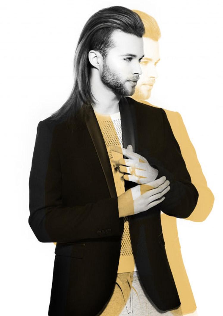 Pánské účesy 2015 Ammon Carver (Ammon Carver pro L'ANZA, New York, NY) – nejlepší pánské účesy nominované v soutěži NAHA 2015, v kategorii Men's Hairstylist of the Year.