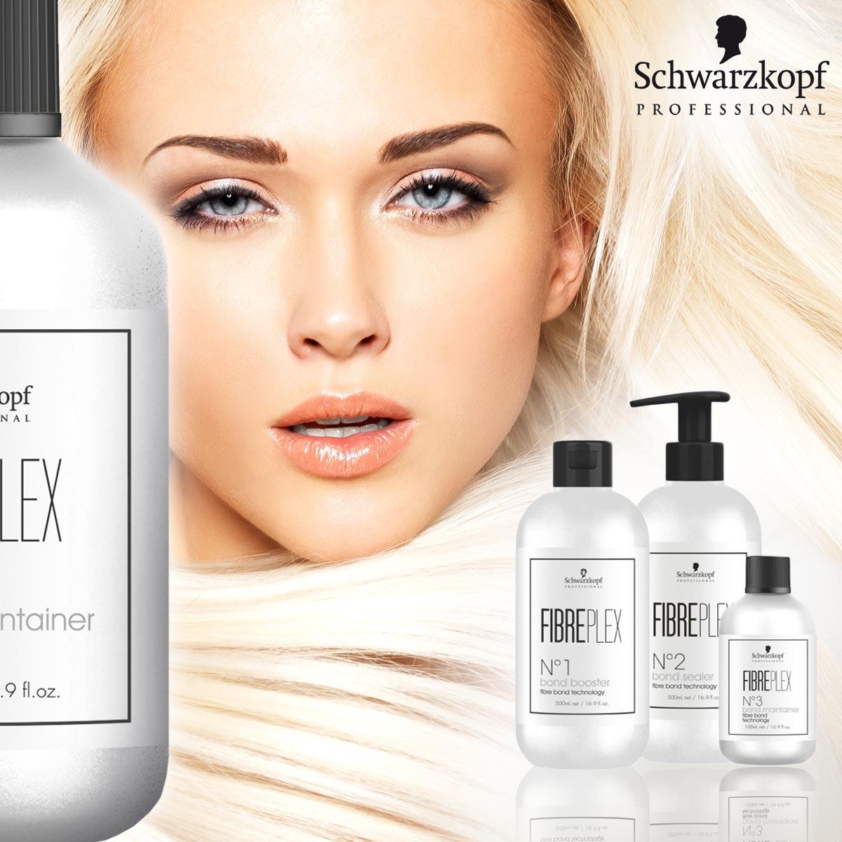 Díky FIBREPLEX od Schwarzkopf Professional jsou teď suché, lámavé a poškozené vlasy po barvení minulostí.