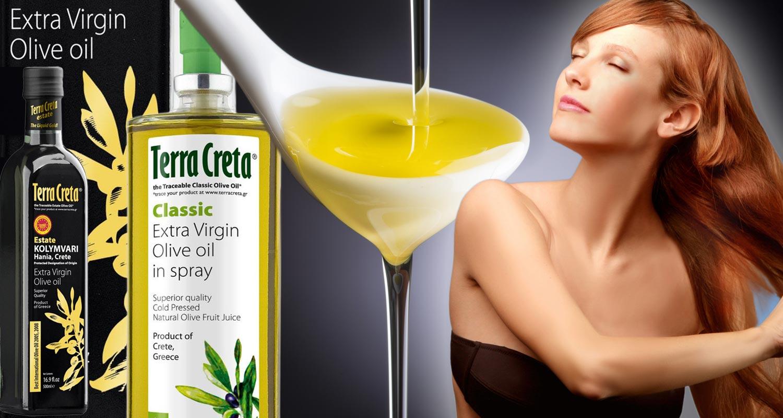Olivový olej na vlasy – pomáhá nejen suchým vlasům, ale podporuje i vlasy v růstu a přispívá k jejich zdraví a kráse.
