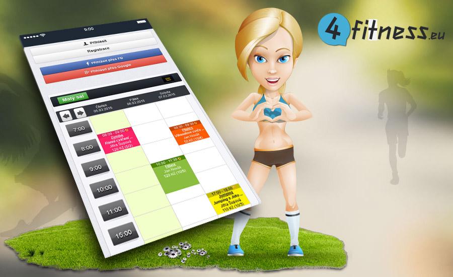 4fitness je kvalitní online rezervační systém nejen pro fitnesscentra!