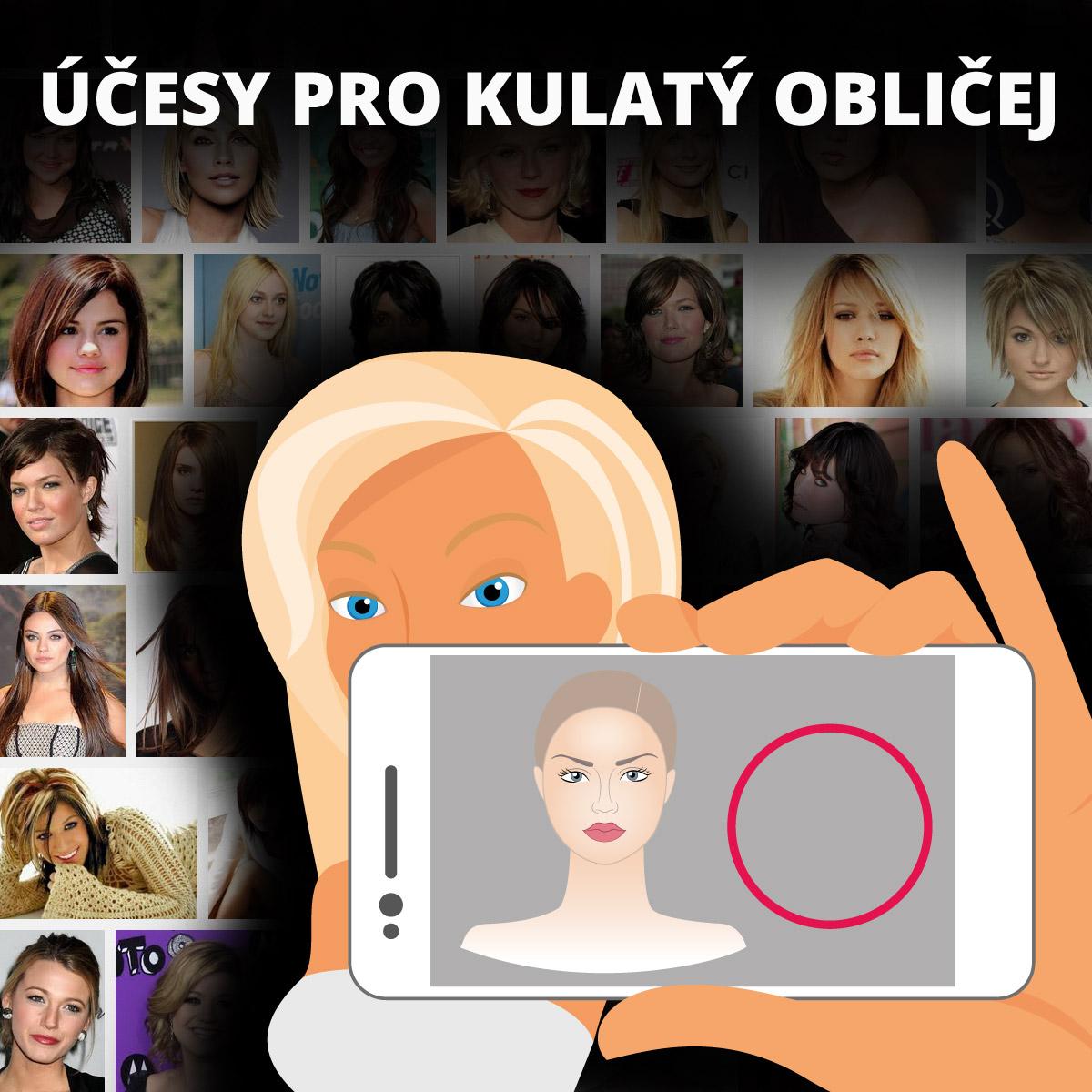 Účesy pro kulatý obličej –jak si správně vybrat účes pro kulatý obličej a čeho se vyvarovat!
