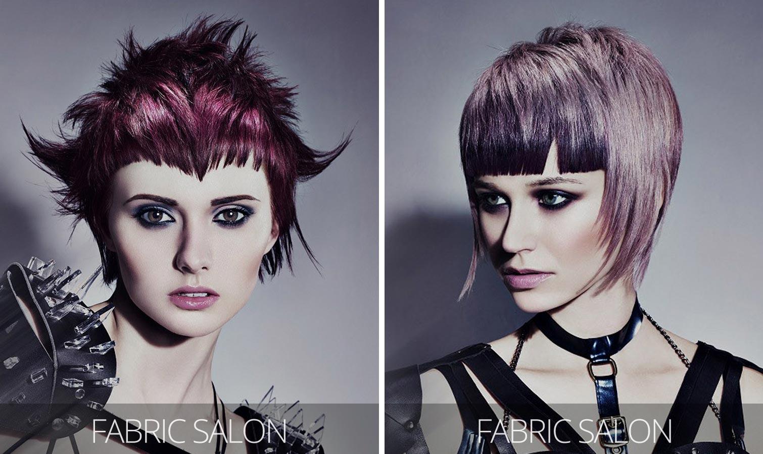 Účesy pro krátké vlasy podzim/zima 2015/2016 – futuristický cyberpunk