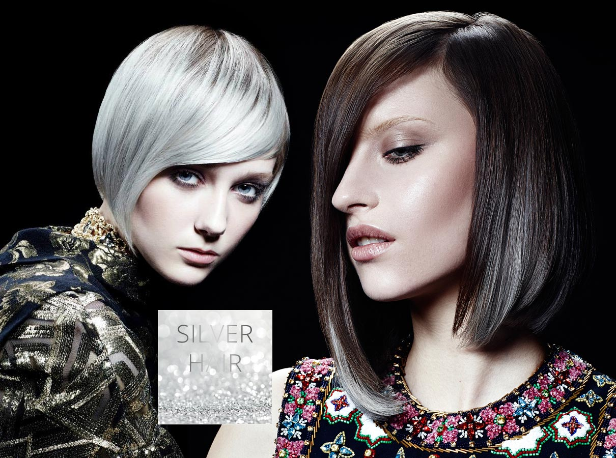 Trendy barvy pro krátké vlasy podzim/zima 2015/2016: šedivé vlasy se staly módou!