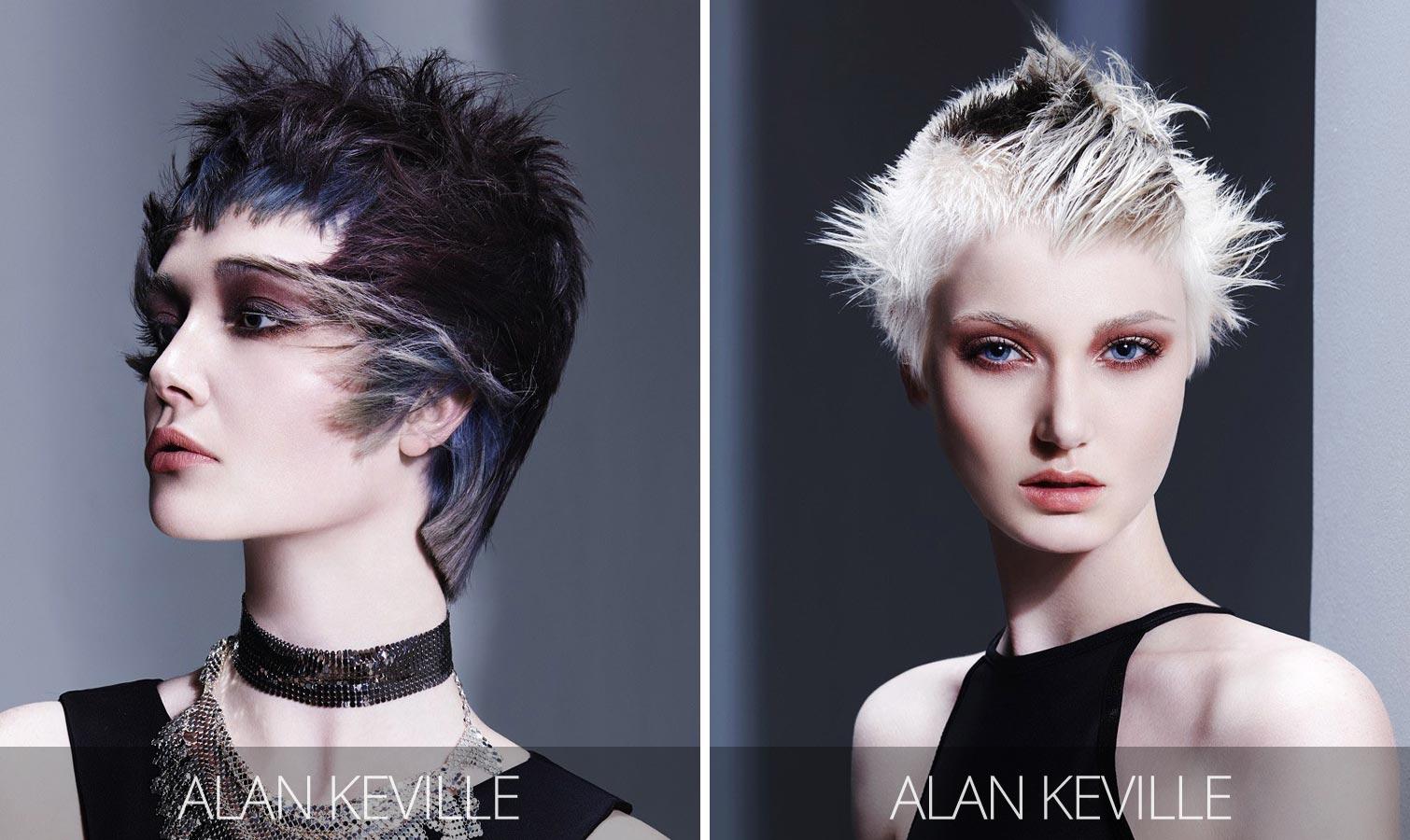 Účesy pro krátké vlasy podzim/zima 2015/2016 – punk rock