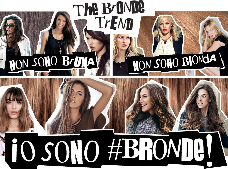 """""""Nejsem bruneta! Nejsem blondýna! Jsem brondýna!"""" Takto se bronde trend prezentuje na francouzských stránkách L'Oréal Paris."""