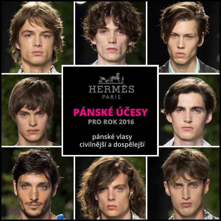 Hermès:prostě pánské vlasy!
