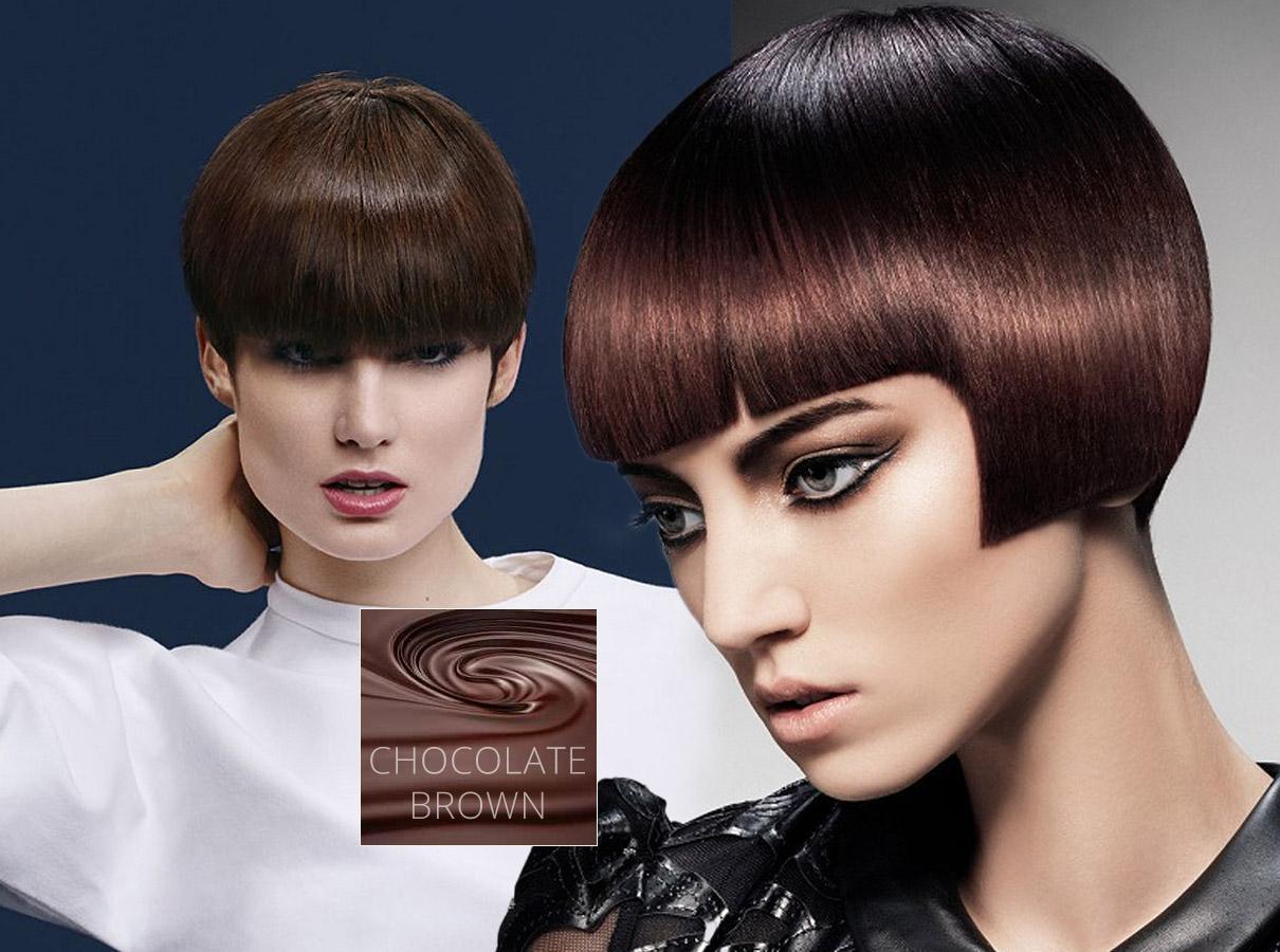 Trendy barvy pro krátké vlasy podzim/zima 2015/2016: brunetky letos budou šílet po čokoládovohnědé barvě vlasů!