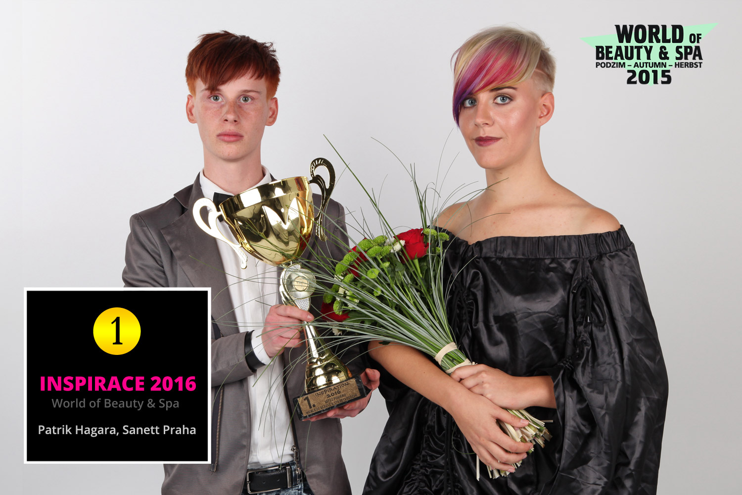 World of Beauty & Spa – Inspirace 2016: 1. místo Patrik Hagara, Sanett