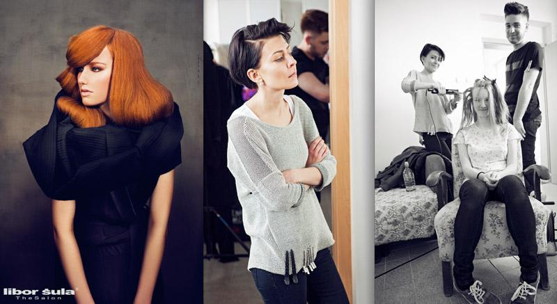Poslední kolekce Libor Šula The Salon pro podzim/zima 2015/2016 – Zuzana Velebná.