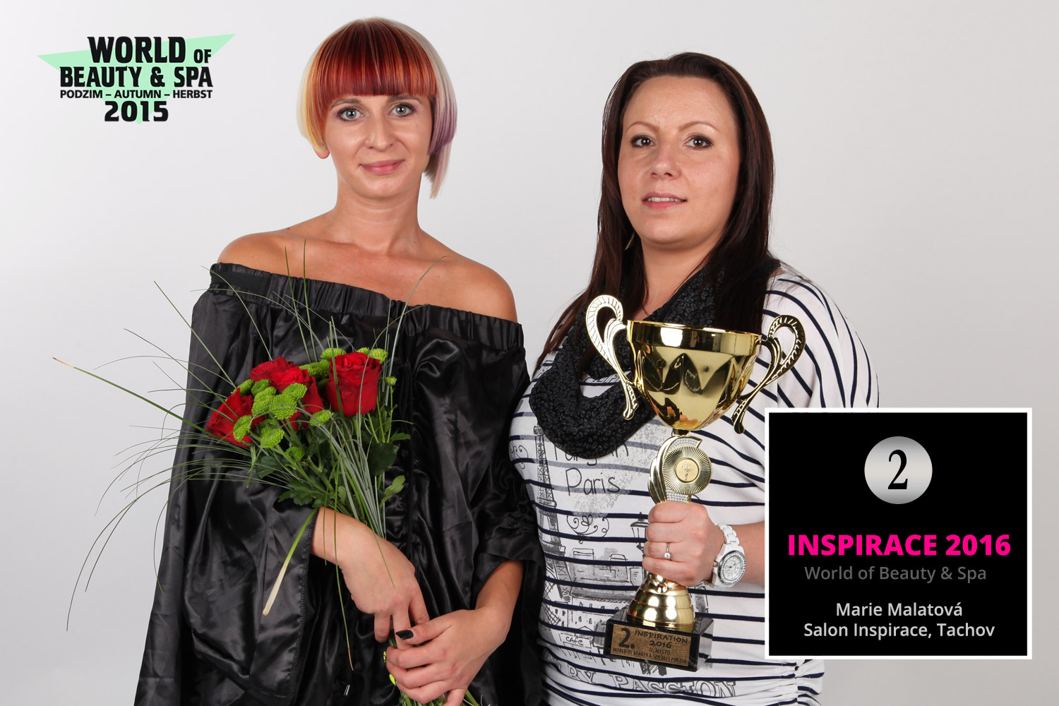 World of Beauty & Spa – Inspirace 2016: 2. místo Marie Malatová, Salon Inspirace, Tachov