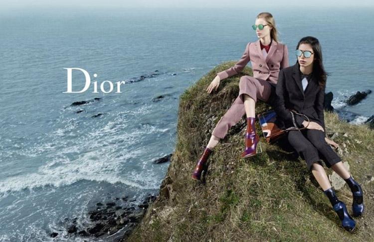 Mirka Hajdová Red Salon pro Dior FW 2015/2016.