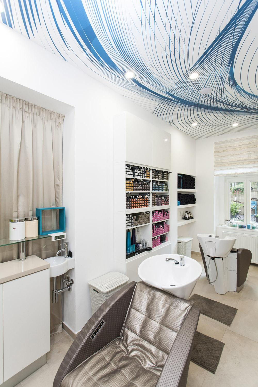 Velkých změn se dočkala i relaxační zóna Hair studia Honzy Kořínka.