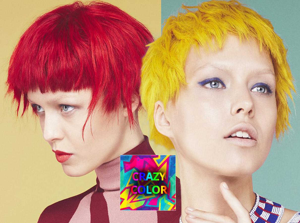 Trendy barvy pro krátké vlasy podzim/zima 2015/2016: crazy barvy, které jsou vidět!