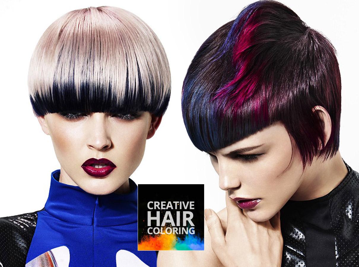 Trendy barvy pro krátké vlasy podzim/zima 2015/2016: nechte si vykouzlit barvu kreativním barvením!