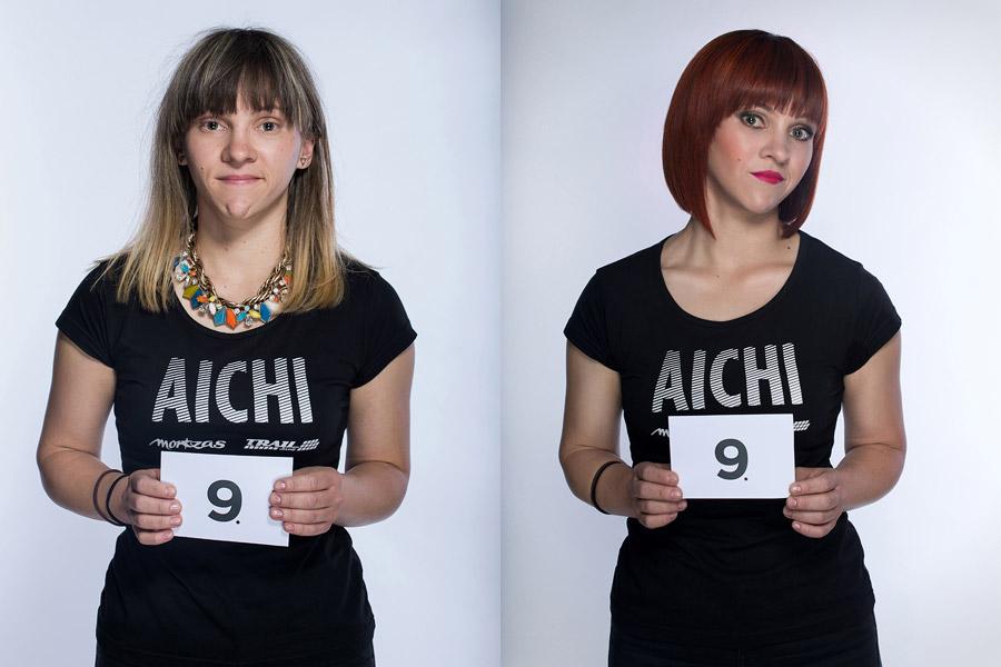 Semifinálová proměna AICHI 2015: Lucie Ungrová – Kadeřnictví Mondani, Židlochovice