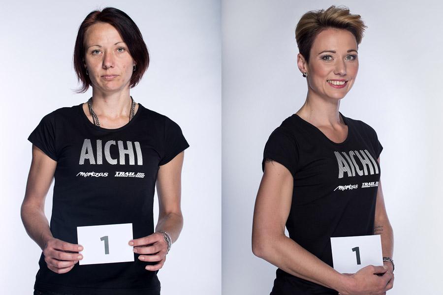 Semifinálová proměna AICHI 2015: Martina Odstrčilová – Studio Marteena, Šumperk.