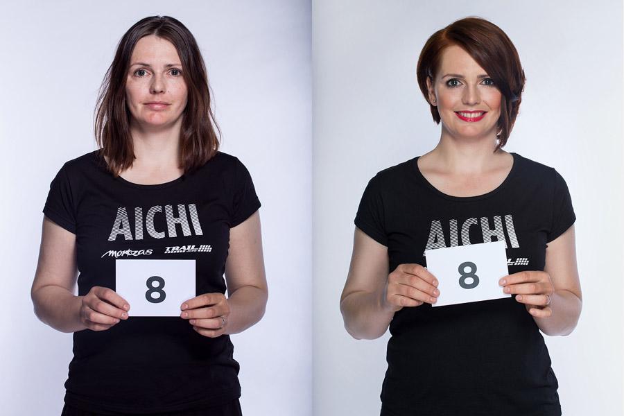Semifinálová proměna AICHI 2015: Lenka Králová – Přibyslav.
