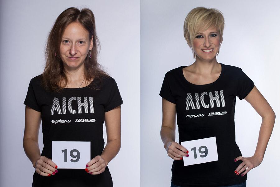Semifinálová proměna AICHI 2015: Petra Korelová Koppová – Salon Petra Koppová, Hradec Králové.