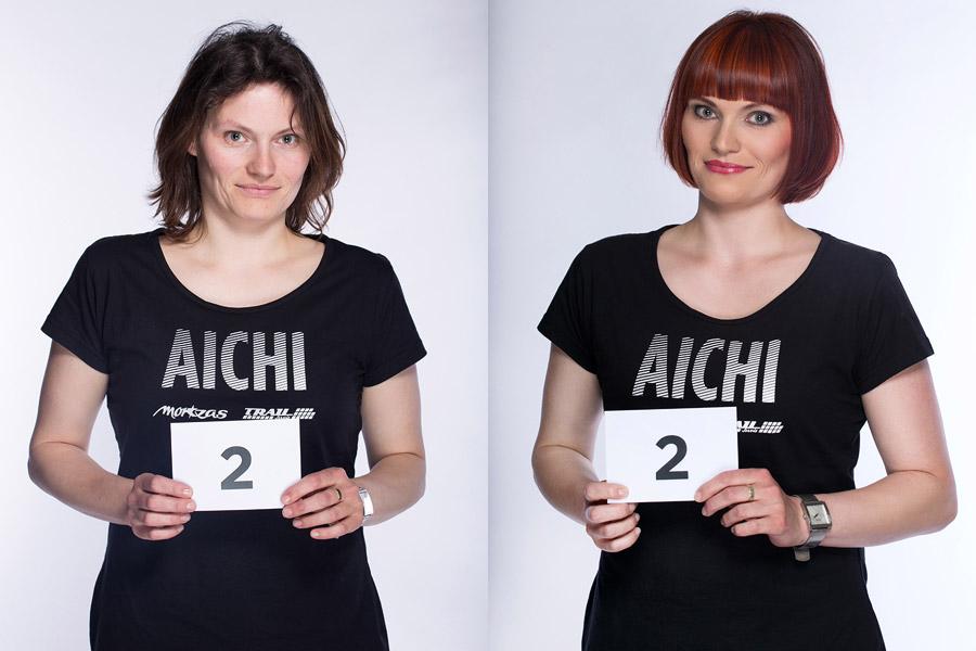 Semifinálová proměna AICHI 2015: Jitka Kočová – Hair Design Unique, Plzeň.