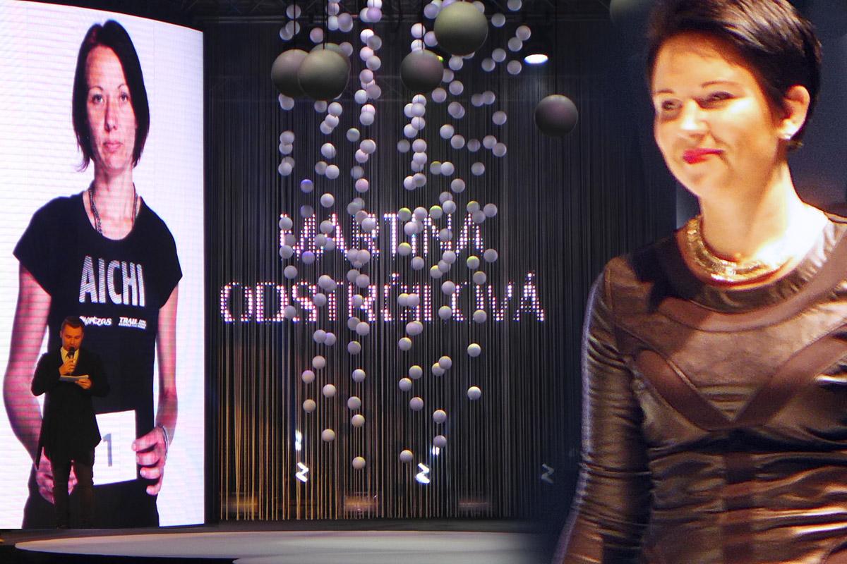Galavečer AICHI 2015: Martina Odstrčilová – Studio Marteena, Šumperk