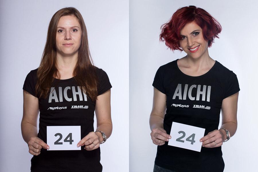 Semifinálová proměna AICHI 2015: Dagmar Popová Abdel – Salon VUE.010, Hradec Králové.