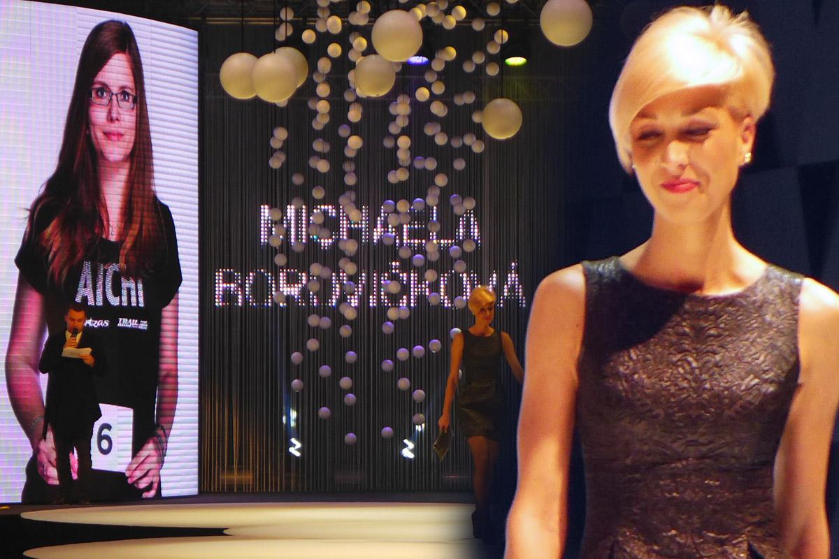 Galavečer AICHI 2015: Michaela Borovičková – Hair Design Unique, Plzeň