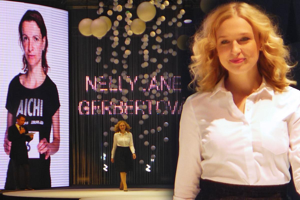 Nelly Jane Gebertová z pražského studia Bomton Brumlovka obsadila na AICHI 2015 druhé místo.