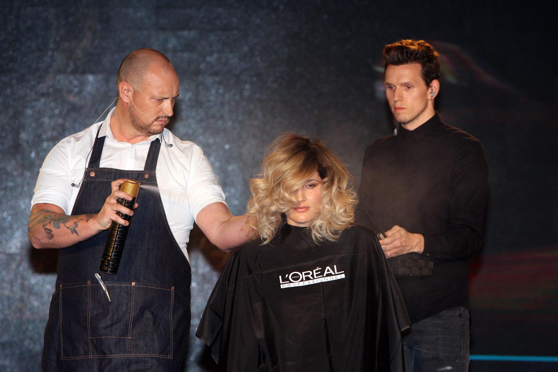 Seminář vpodání vzácného hosta letošního kongresu Salon Expert – byl jím světoznámý holandský kadeřník Berni Ottjes