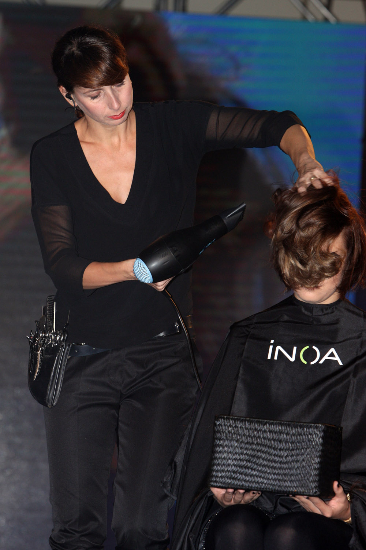 Petra Měchurová na kongresu Salon Expert 2015 L'Oréal Professionnel