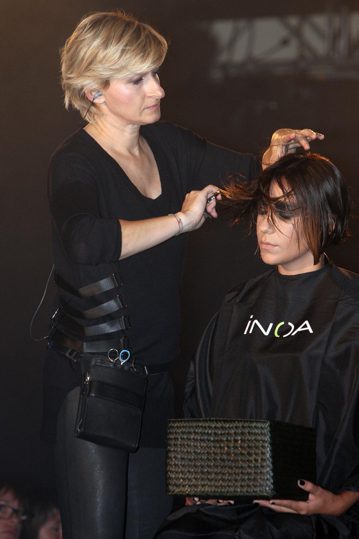 Renáta Márová na kongresu Salon Expert 2015 L'Oréal Professionnel