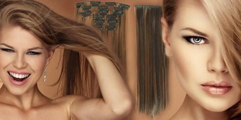 Clip-in vlasy jsou nejpopulárnější metodou prodloužení vlasů. Dlouhé vlasy můžete mít za pět minut a to bez vysokých investic do prodlužování.