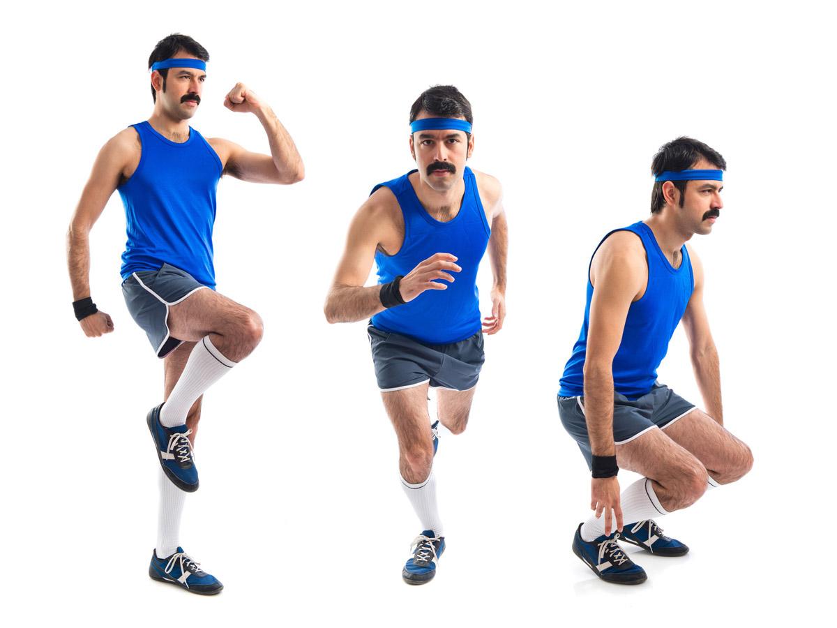 Movember je také o slově MOVE! Začněte se hýbat pro svoje fyzické i psychické zdraví. S knírkem na sportovišti rozhodně zaujmete!