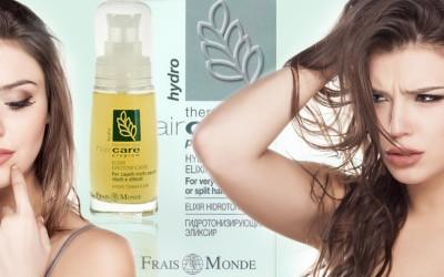 Frais Monde Hydro Toning Elixir – testovali jsme zázrak na suché vlasy! Podívejte se, jestli uspěl!