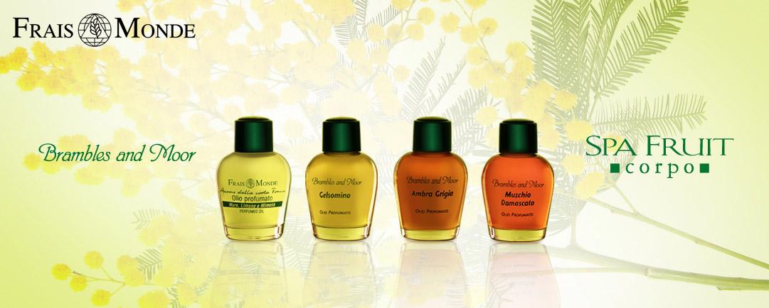 Vůni Středomoří promítla značka Frais Monde do své nabídky unikátních parfémovaných olejů.