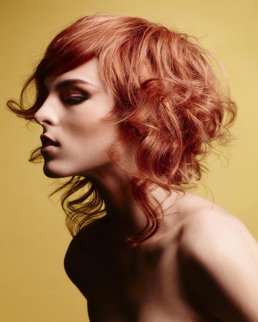 Střihy pro dlouhé vlasy 2016 – Haringtons, PURE Collection, (vlasy: Haringtons Art Team.)