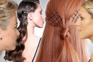 Obyčejné sponky do vlasů zažívají boom. Prosté vlásenky, angl. bobby pins, patří mezi trendy účesy 2015/2016. Vlasy už nejenom drží, ale i zdobí!