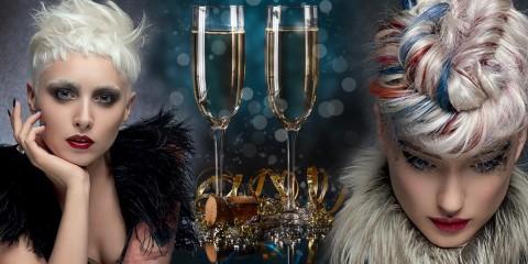 Účes na párty pro podzim a zimu 2015/2016.