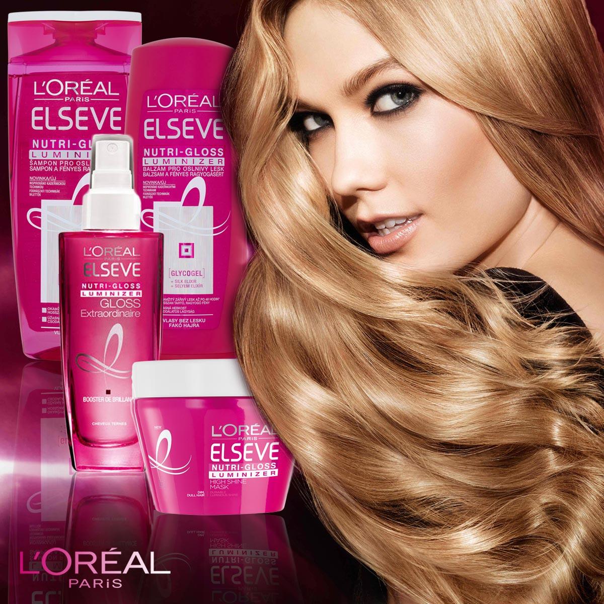 L'Oréal Paris přišel s novou kosmetikou pro lesk vlasů – Nutri-Gloss Luminizer.