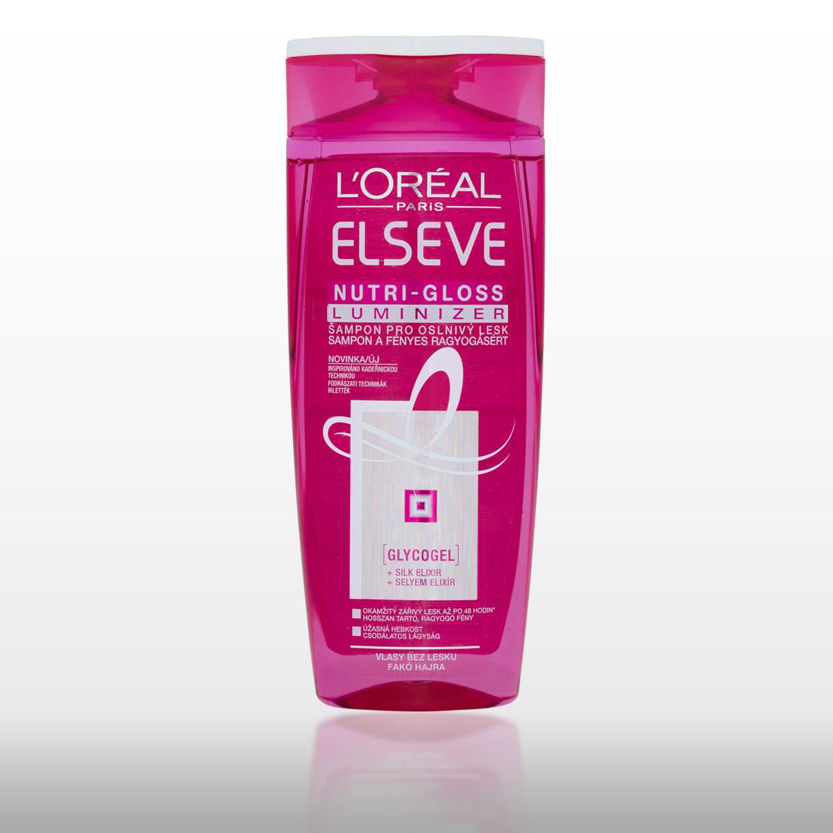 Šampon z kosmetické řady Nutri-Gloss Luminizer od L'Oréal Paris